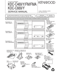 Manual de servicio Kenwood KDC-C669 Y