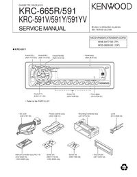 Service Manual Kenwood KRC-665R