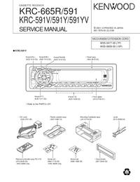 Manual de serviço Kenwood KRC-591Y