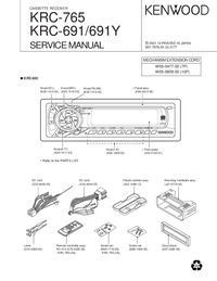 Service Manual Kenwood KRC-765