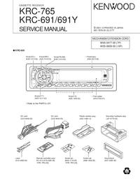 Manual de serviço Kenwood KRC-691Y