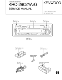 Service Manual Kenwood KRC-2902 YA