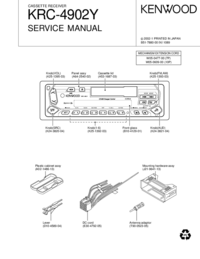 Service Manual Kenwood KRC-4902Y