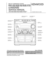 Service Manual Kenwood RXD-302