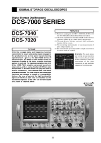 Hoja de datos Kenwood DCS-7020