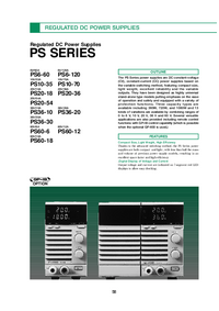 Datasheet Kenwood PS36-30