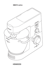 Manual del usuario Kenwood KM070 series