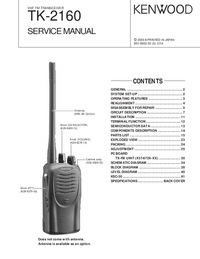 Service Manual Kenwood TK-2160