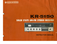 Manual del usuario Kenwood KR-5150