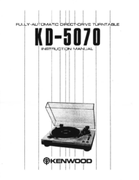 Service Manual Kenwood KD-5070