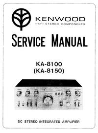 manuel de réparation Kenwood KA-8100