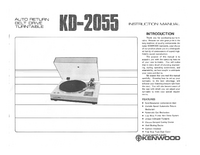 Manual del usuario Kenwood KD-2055