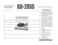 Bedienungsanleitung Kenwood KD-2055