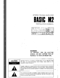 Manual del usuario Kenwood BASIC M2