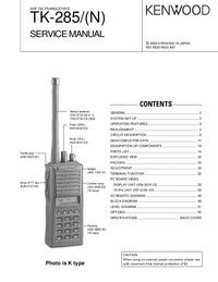 Manual de servicio Kenwood TK-285/(N)
