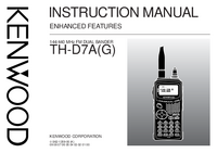 User Manual Kenwood TH-D7A(G)