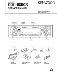 Manual de servicio Kenwood KDC-9090R