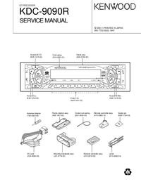 Руководство по техническому обслуживанию Kenwood KDC-9090R