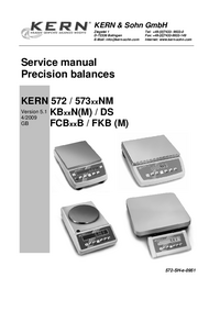 Service Manual Kern DS