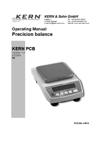 User Manual Kern PCB