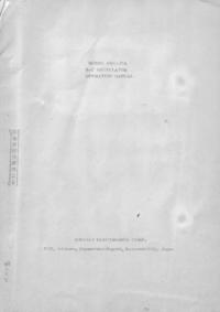 Servizio e manuale utente Kikusi ORC-27A
