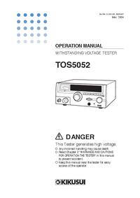 Manuale d'uso Kikusi TOS5052