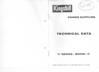 Serwis i User Manual Kingshill V Series Model C