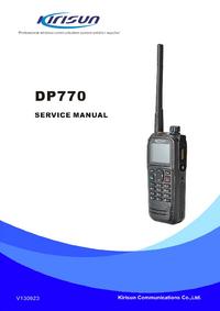 Servicehandboek Kirisun DP-770
