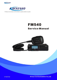 Service Manual Kirisun FM540