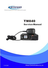 Service Manual Kirisun TM840