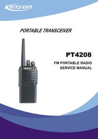 Servicehandboek Kirisun PT4208