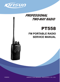 Service Manual Kirisun PT558