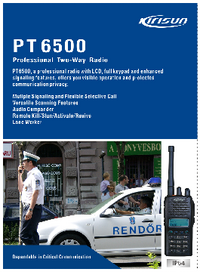 Datasheet Kirisun PT6500