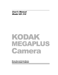 Manual del usuario Kodak Megaplus ES 310