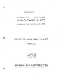 KrohnHite-7096-Manual-Page-1-Picture