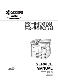 Serviceanleitung Kyocera FS-9500DN