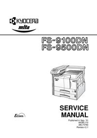 manuel de réparation Kyocera FS-9500DN