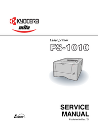 Service Manual Kyocera FS-1010