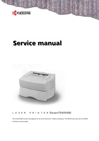 Service Manual Kyocera FS-680