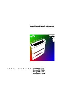 Manual de servicio Kyocera Ecosys FS1700+