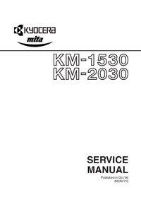 Service Manual Kyocera KM-2030