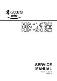 Serviceanleitung Kyocera KM-1530