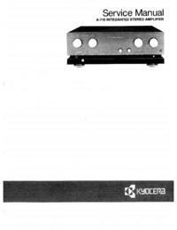 Manual de serviço Kyocera A-710