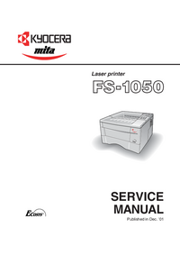Serviceanleitung Kyocera FS-1050