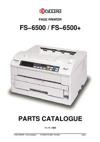 Lista de parte Kyocera FS−6500