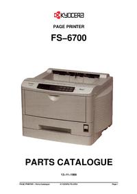 Parte de lista Kyocera FS−6700