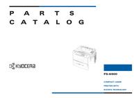 Liste des pièces Kyocera FS-6900