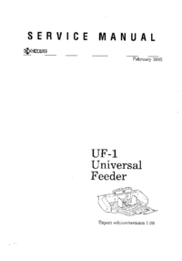 Service Manual Kyocera UF-1