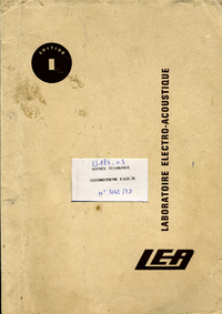 Service and User Manual LEA EHD 35