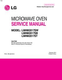 manuel de réparation LG LMHM2017SB
